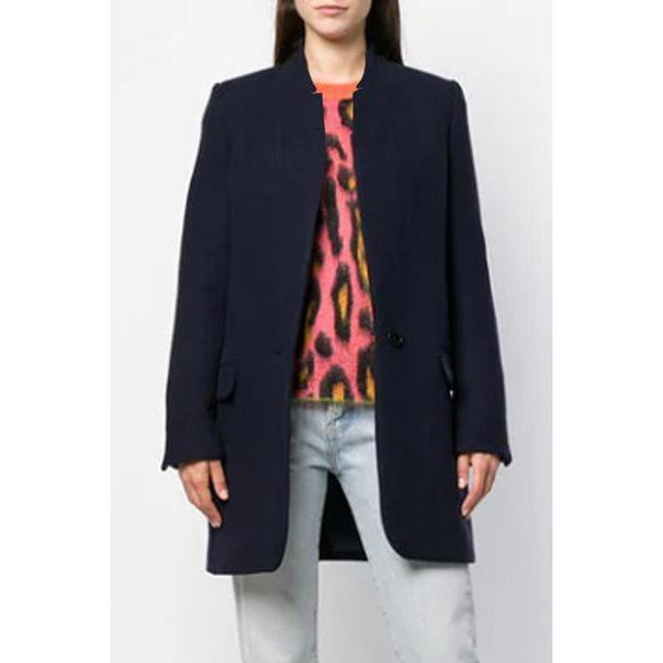 Fall Pocket Outerwear Sexy Coat