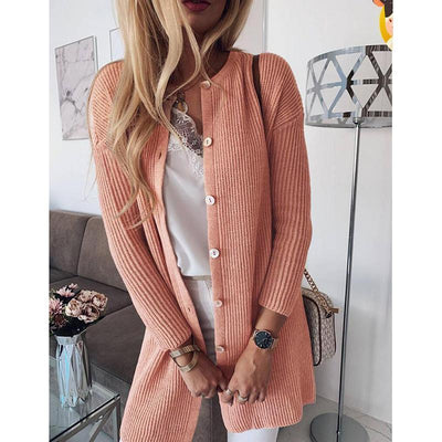 Sexy Knitting Button Cardigans