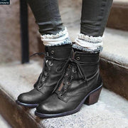 High-heeled Women's Ankle Boots