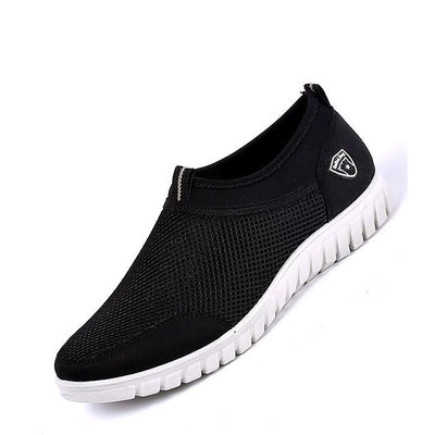 Men's Summer / Fall Sporty / Casual Daily Office & Career Loafers & Slip-Ons Mesh Non-slipping Wear Proof Black / Blue / Beige