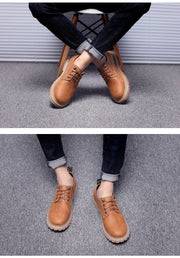 Men Shoes Autumn Winter Work & Safety Shoes Fashion Casual Men Shoes