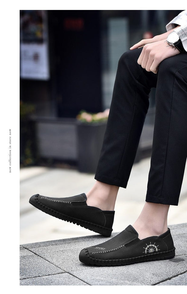 Casual Shoes Fashion Men's Shoes Casual Driving Shoes Soft Moccasins Flats Footwear Men Loafers