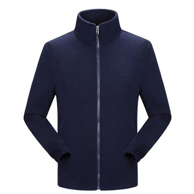 Fleece Mens Jacket Large Sizes Big and Tall Men Clothing Jacket Liner Autumn Spring Cardigan Plus Coat Male