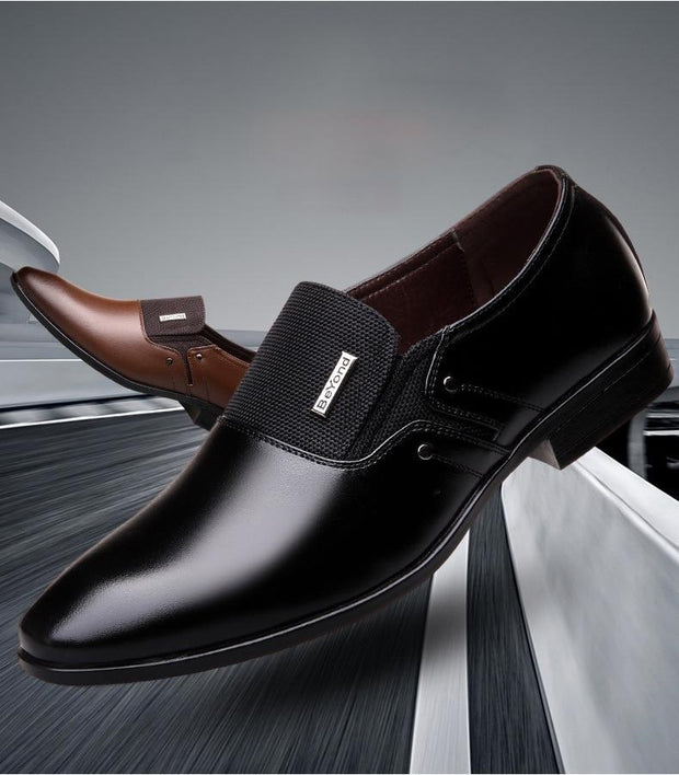 Men Formal Luxury Wedding Shoes Business Dress Shoes Men Loafers Pointy Shoes