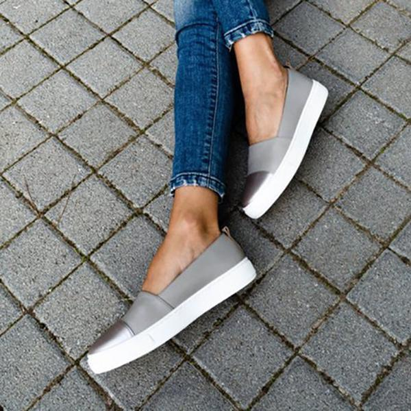 Women Flat Slip on Shoes Loafers Mocassin Platform Shoes