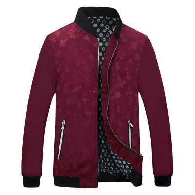 Men'sJacket Casual Confortable Printing Clothing Male Streetwear Coat Male Plus size 5XL