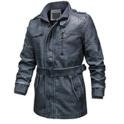 Men Leather Jackets Men's Fashion Casual Faux Leather Coats Male Leather Jacket