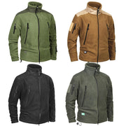 Men Brand Clothing Tactical Army Military Clothing Fleece Men's Jacket Windproof Warm Militar Coat