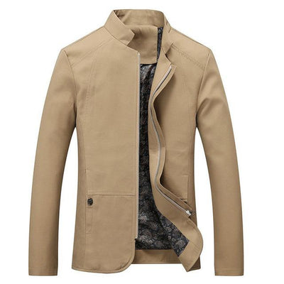 Men Slim Fit Trench Casual Coats Windbreaker Outerwear Jackets