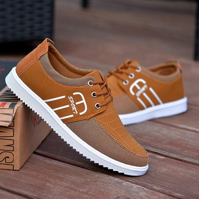 Casual Shoes Men Breathable Canvas Shoes For Men Fashion Espadrilles Men Flats Casual Trainers Men Footwear