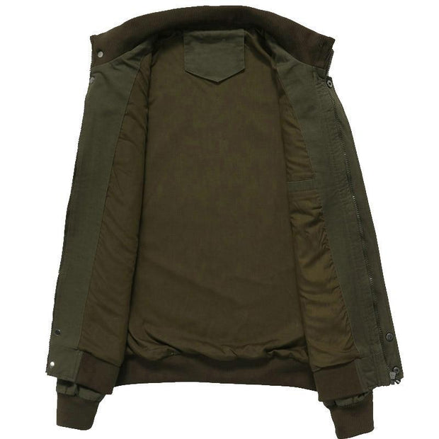 Bomber Jackets Coats Men Cotton Casual Workout Military Jacket Men