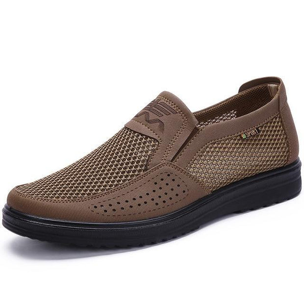 Men's Casual Mesh Flats Loafer Comfortable Soft Oxford Shoes