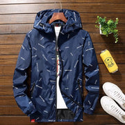 men jacket hooded Jackets  Plus Size 10XL 9XL 8XL 7XL men Windbreaker Casual Coat for Male Outerwear Streetwear jacket