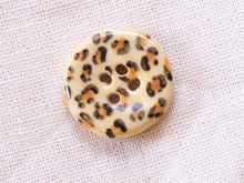 Load image into Gallery viewer, Small Button: Leopard Print