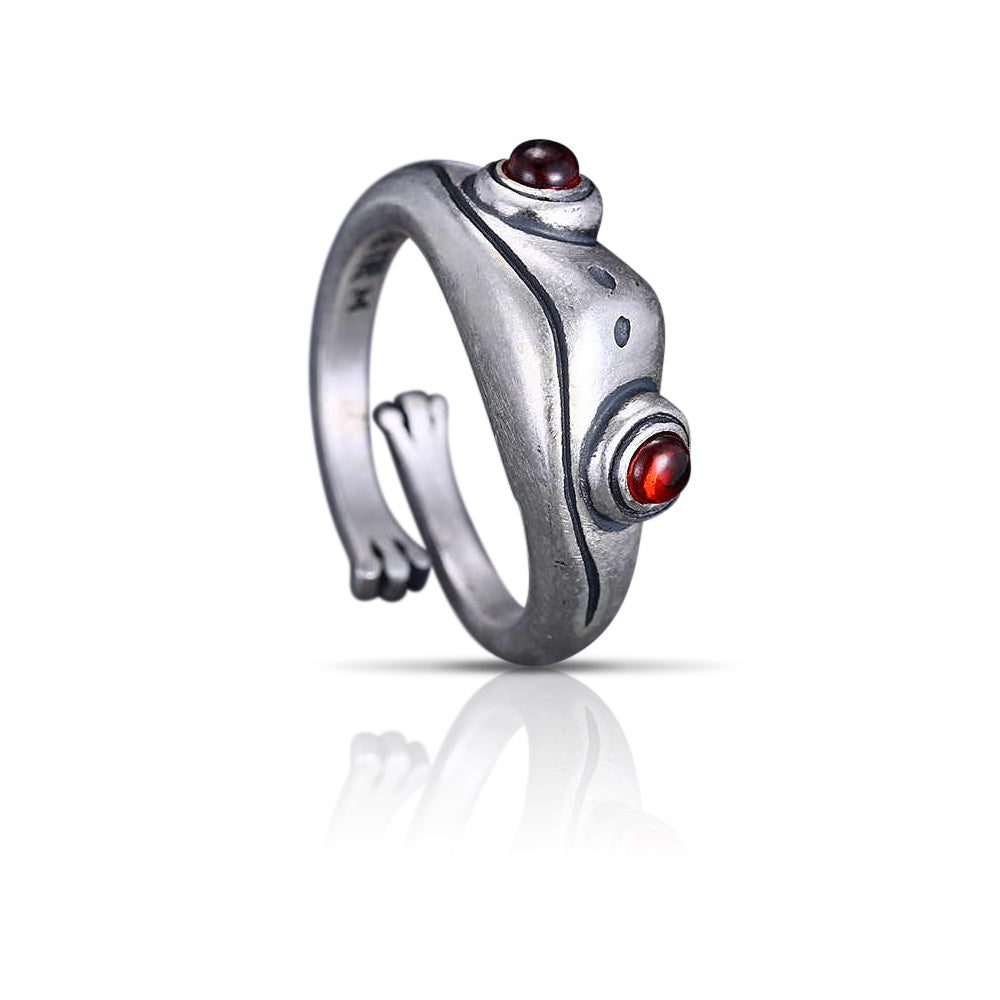 Casual Crazy Frog Design Ring