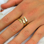 Anna Lily™ - Custom Triple Name Luxury Ring