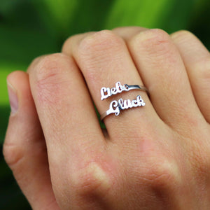 Anna Lily Luxury Name Ring