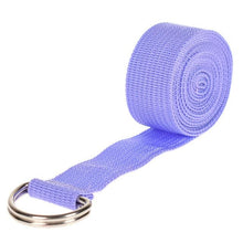 Load image into Gallery viewer, Hot Multi-Colors Adjustable Belt Sport Yoga Stretch Strap D-Ring Belt Gym Waist Leg Fitness Exercise Gym equipment