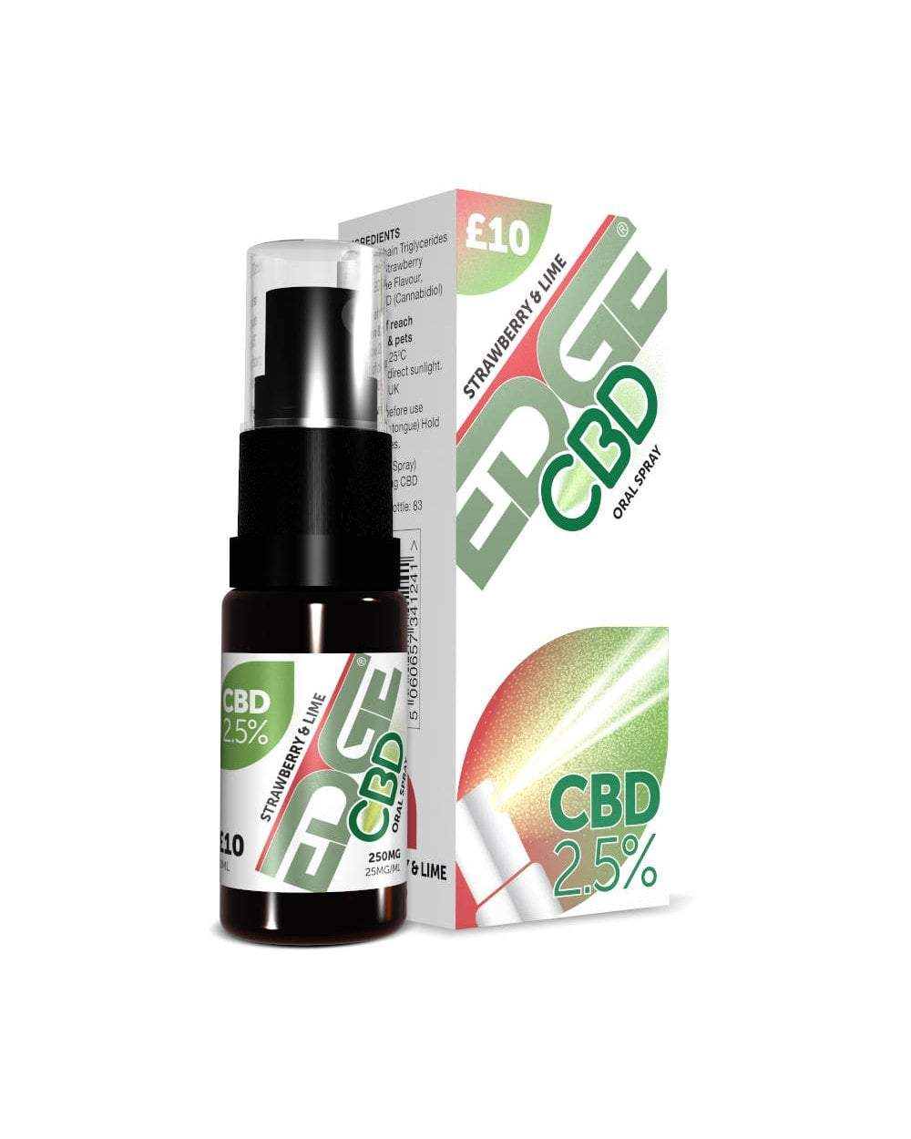 CBD Oral Spray - Strawberry & Lime