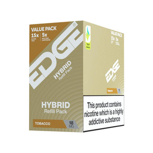 EDGE Hybrid - British Tobacco Pod - Pack of 5