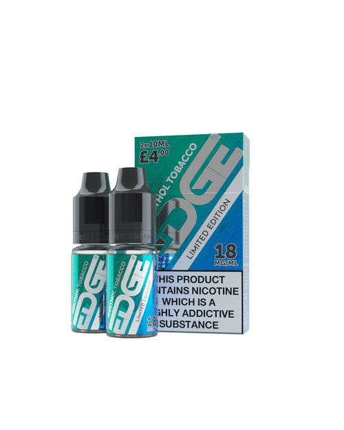 Menthol Tobacco Nic Salts E-Liquid - Limited Edition 2-Pack