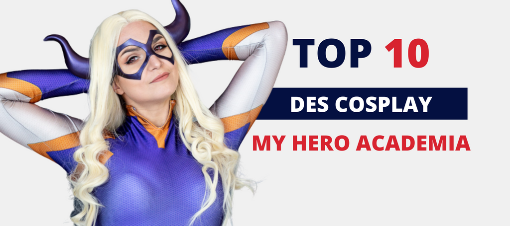Le top 10 des Cosplay My Hero Academia