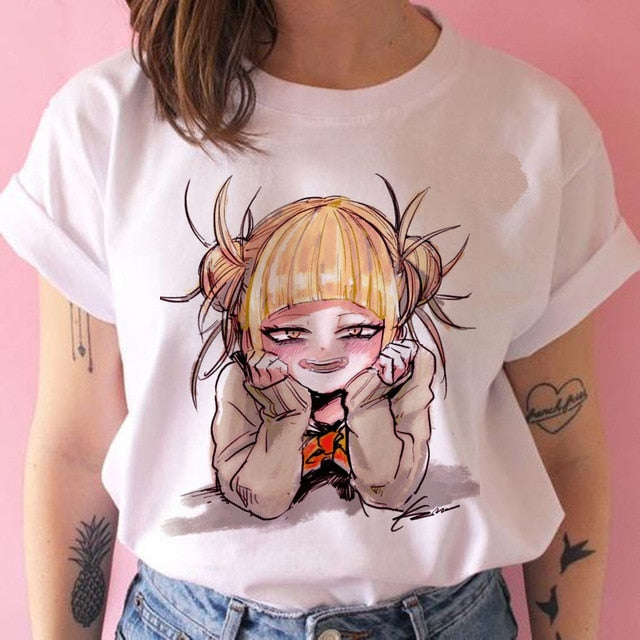 T shirt my hero academia Himiko Street Art