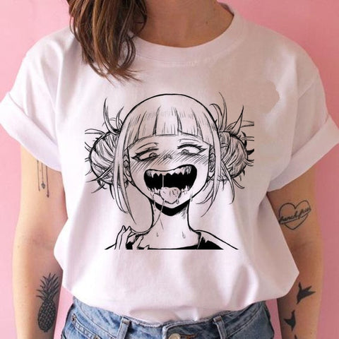 T shirt my hero academia Himiko Toga fun