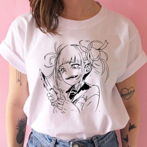 T shirt my hero academia Himiko Toga kill