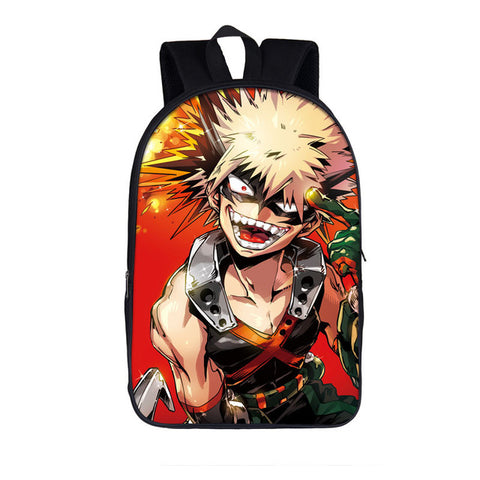 Cartable MHA Katsuki Bakugo