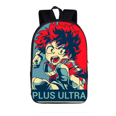 Cartable MHA plus ultra Izuku Midoriya
