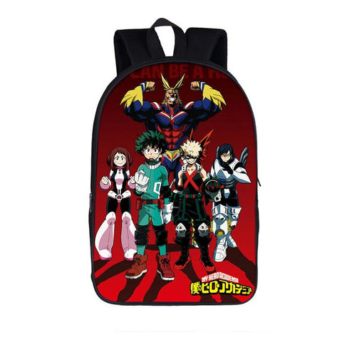 Cartable my hero academia team