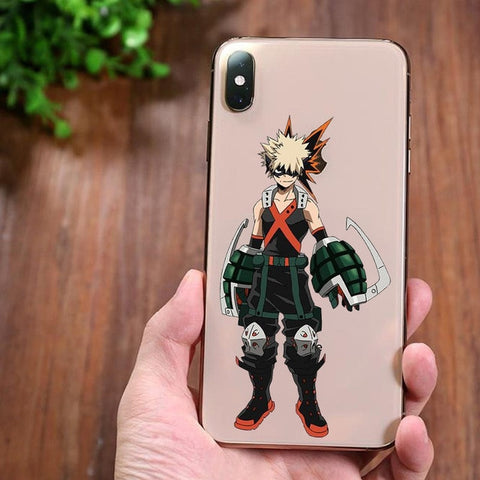Coque Iphone MHA Bakugo
