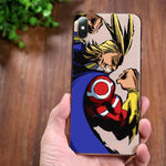 Coque Iphone MHA transparente All Might