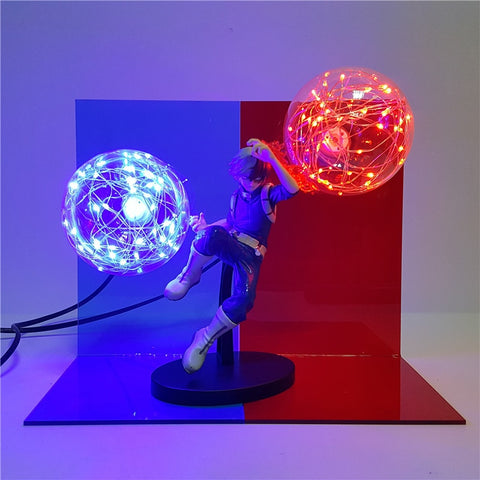 Figurine LED Shoto Todoroki my hero academia