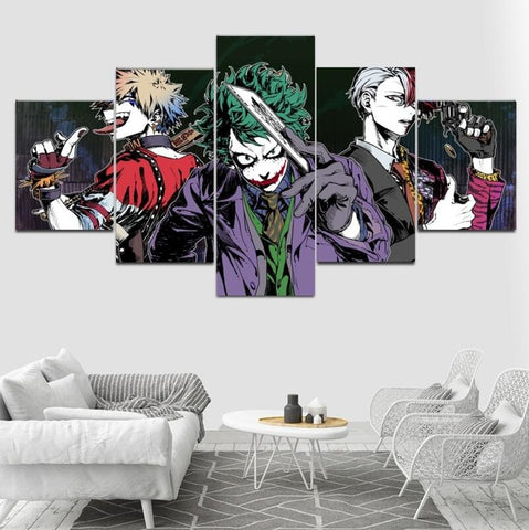 Tableau my hero academia joker
