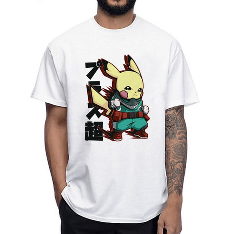 T shirt my hero academia pikachu