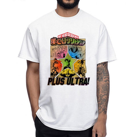 Tee shirt my hero academia plus ultra