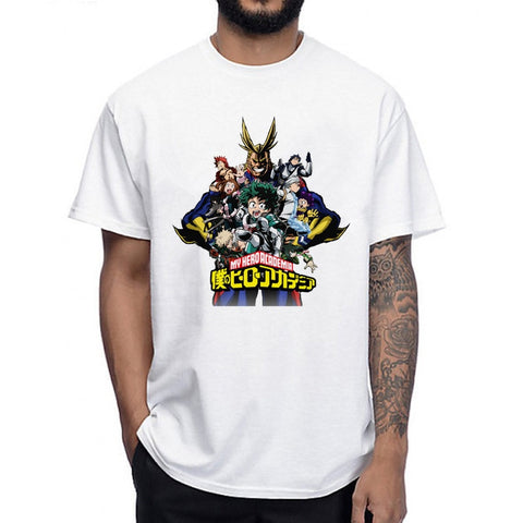 T shirt my hero academia all might & co