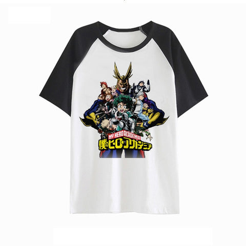 Tee shirt my hero academia all might