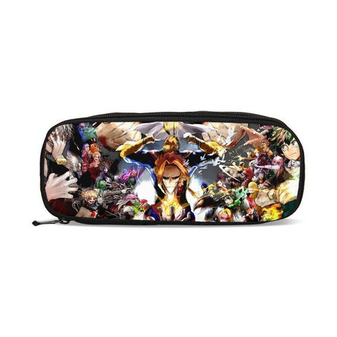 Trousse all might et personnages