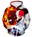 Sweat my hero academia Todoroki Shoto