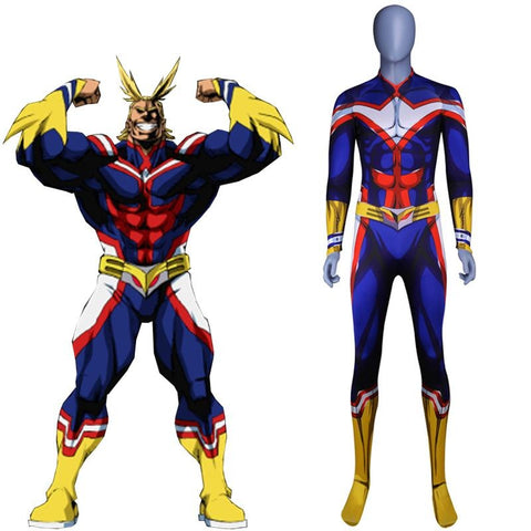 Cosplay all might my hero academia Homme
