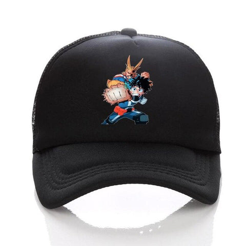 Casquette my hero academia izuku et all might