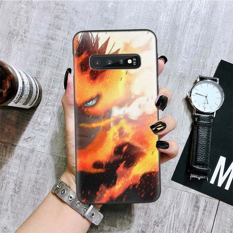 Coque my hero academia samsung endeavor