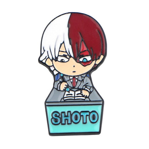 Pins My Hero Academia Shoto classe