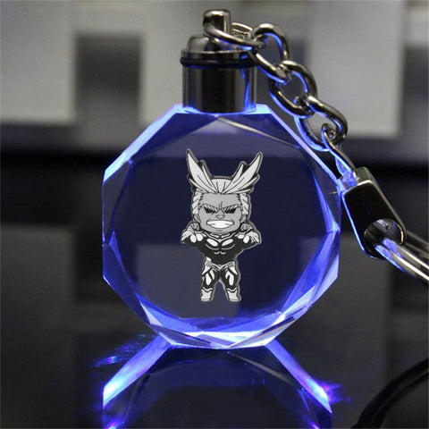Porte clef my hero academia All Might cristal