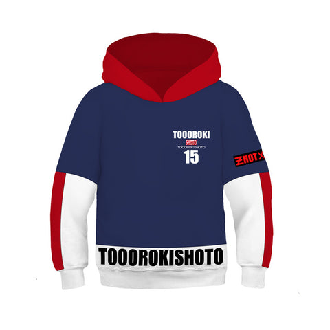Sweat enfant My hero academia Todoroki Shoto