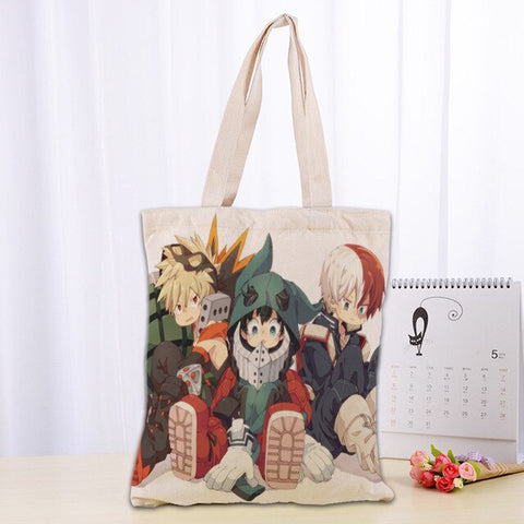 Tote Bag My Hero Academia Katsku Izuku Shoto