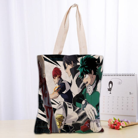 Tote Bag My Hero Academia Izuku Shoto Tenya